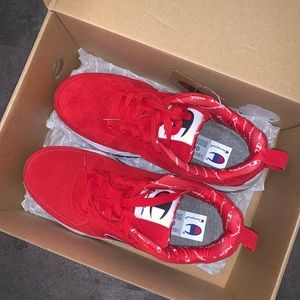 Red Champion Sneakers